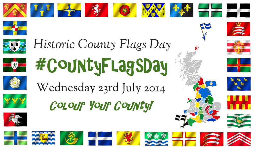Historic County Flags Day 2014