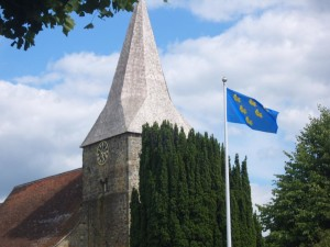 sussex flag burwash